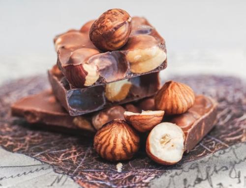 When love waited for a Hazelnut chocolate