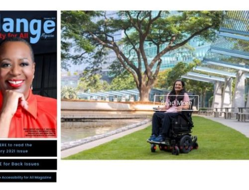 My interview with Mélange 'Accessibility for All' magazine